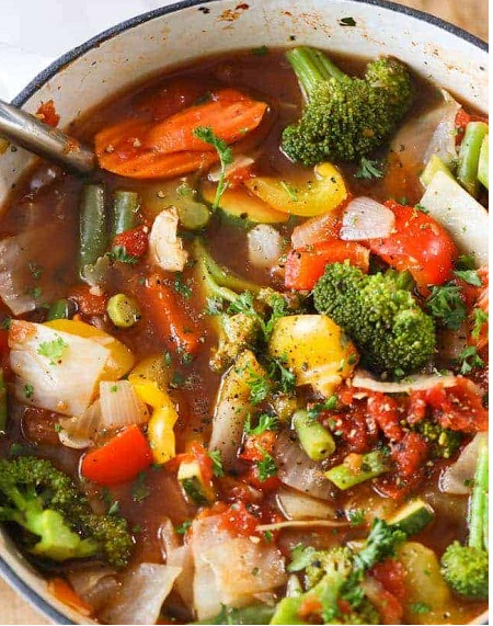 vegetable soup mix-up